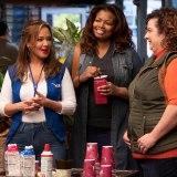 Leah Remini and Dierdre Friel star in SECOND ACT.