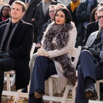 Freddie Stroma, Vanessa Hudgens, and Treat Williams star in SECOND ACT.