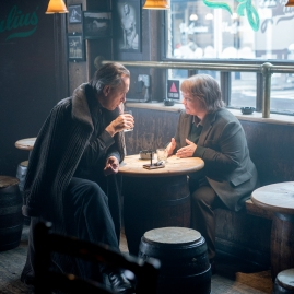 "Richard E. Grant as ""Jack Hock"" and Melissa McCarthy as ""Lee Israel"" in the film CAN YOU EVER FORGIVE ME? Photo by Mary Cybulski. © 2018 Twentieth Century Fox Film Corporation All Rights Reserved"