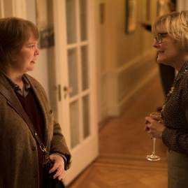 "Melissa McCarthy as ""Lee Israel"" and Jane Curtin as ""Marjorie"" in the film CAN YOU EVER FORGIVE ME? Photo by Mary Cybulski. © 2018 Twentieth Century Fox Film Corporation All Rights Reserved"