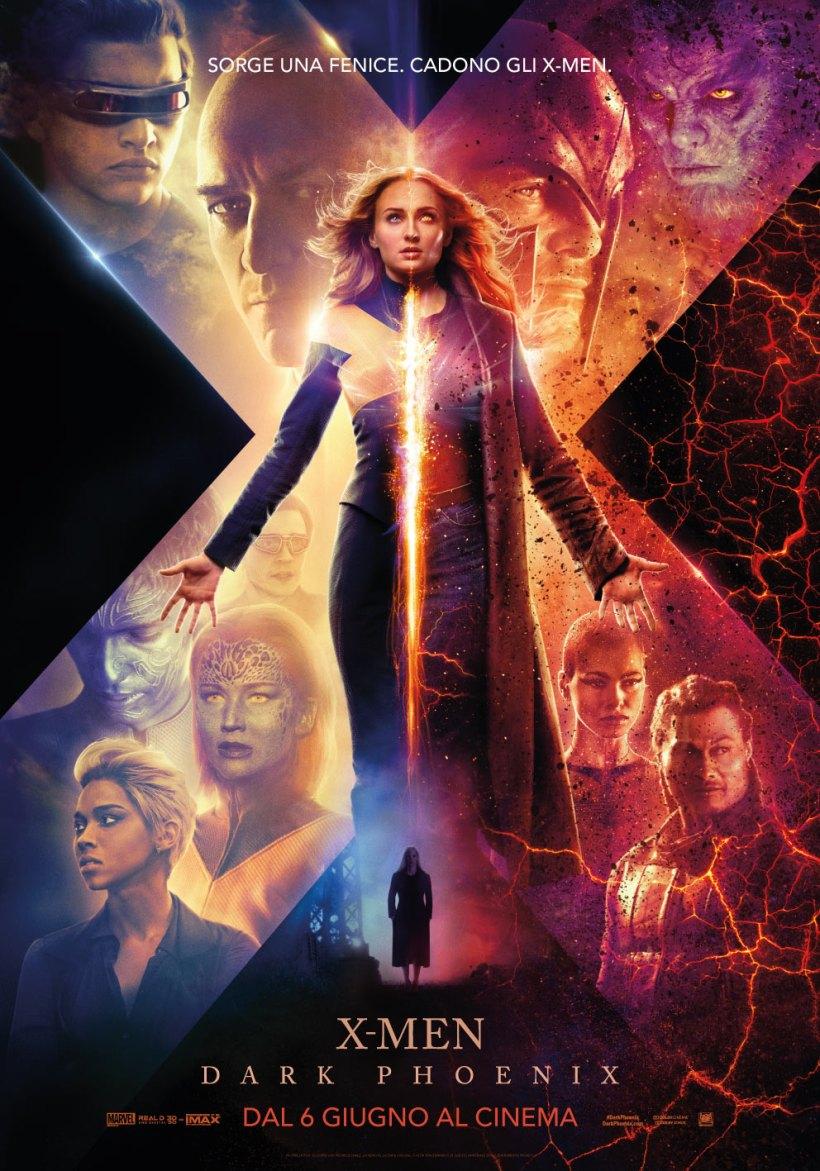 X Men Dark Phoenix - Locandina