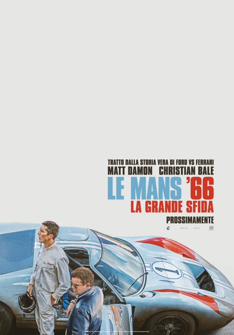 Le Mans '66 - La Grande Sfida _ Poster Ufficiale